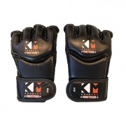 KravMaga Fightgear Free Fight Gloves - Zwart