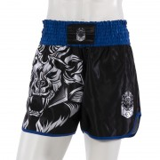 Leo INSTINCT Kickboxing Short - Black/Blue