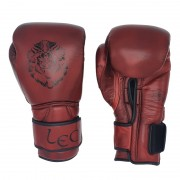 Leo Ultimate 'Limited Red Blood' Leather Gloves