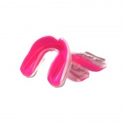 Multisports Gel Mouthguard Transparent/Pink Youth